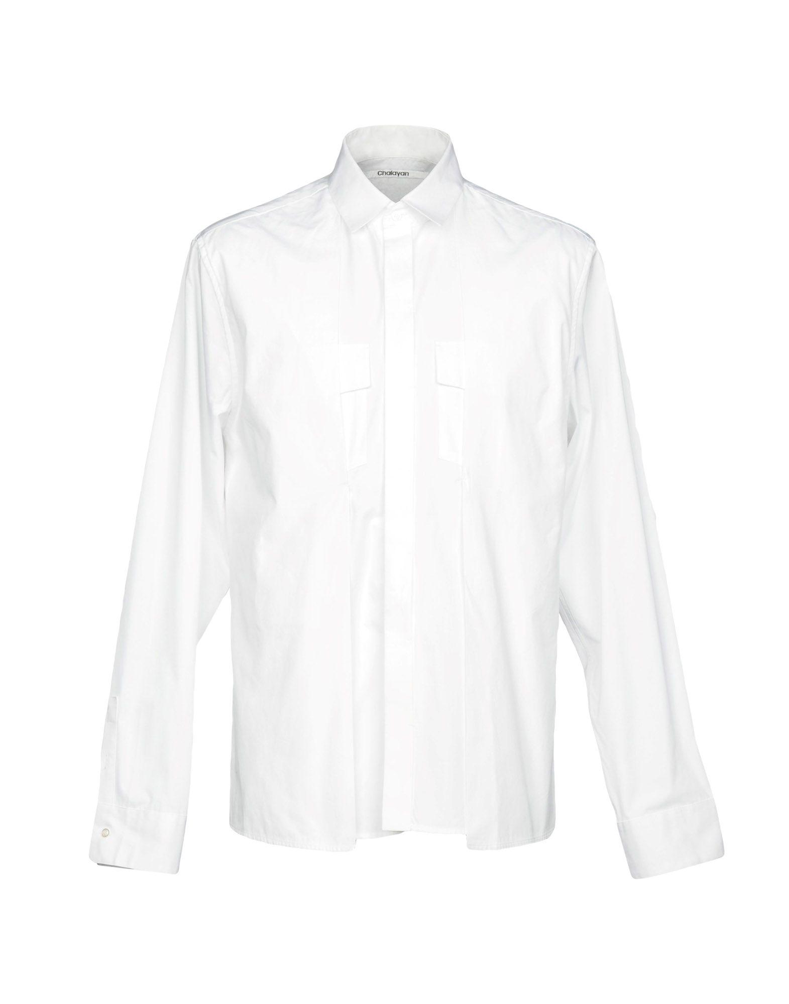 Camicia Tinta Unita Chalayan Uomo - Acquista online su