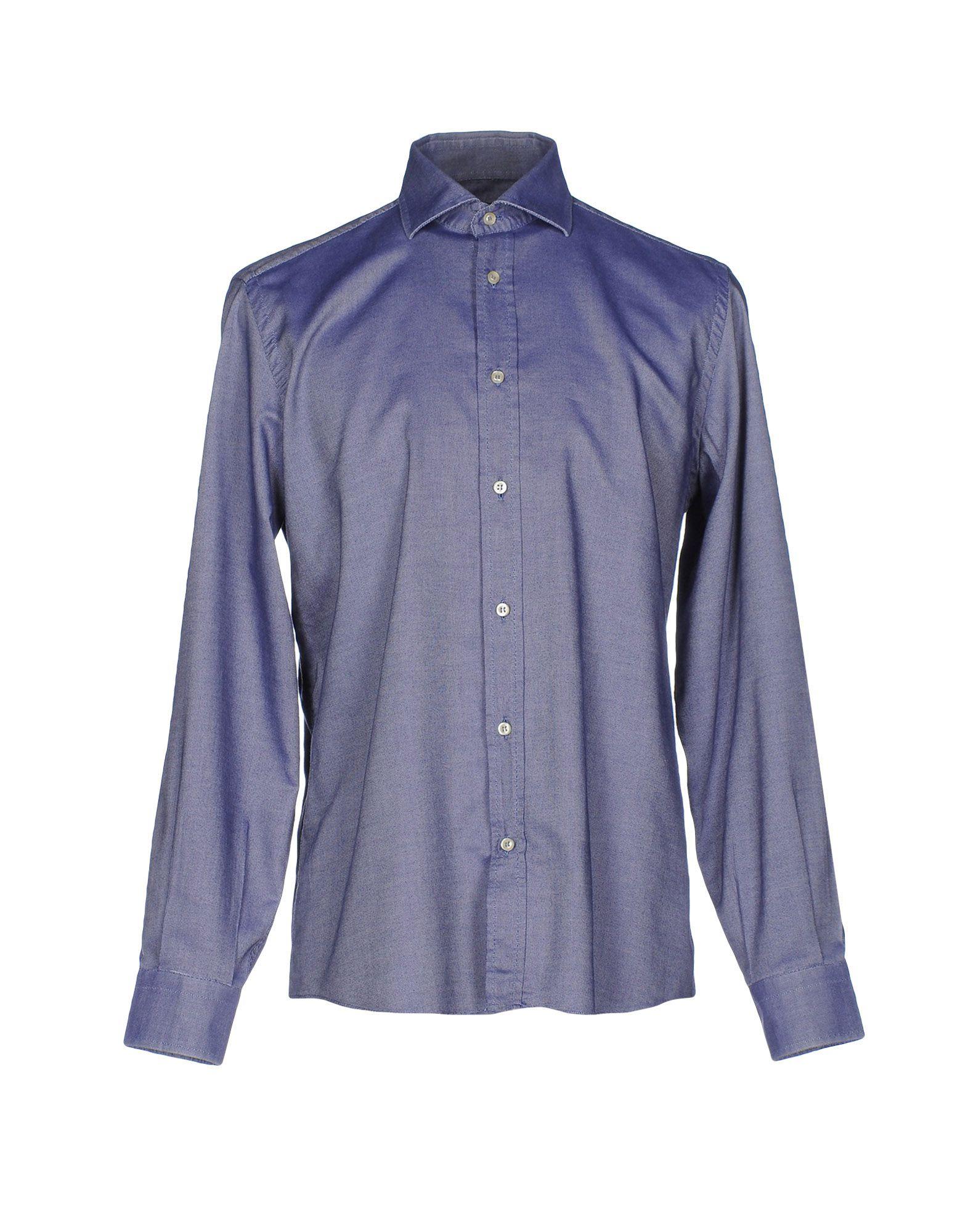 Camicia Tinta Unita Antonio Fusco Uomo - Acquista online su