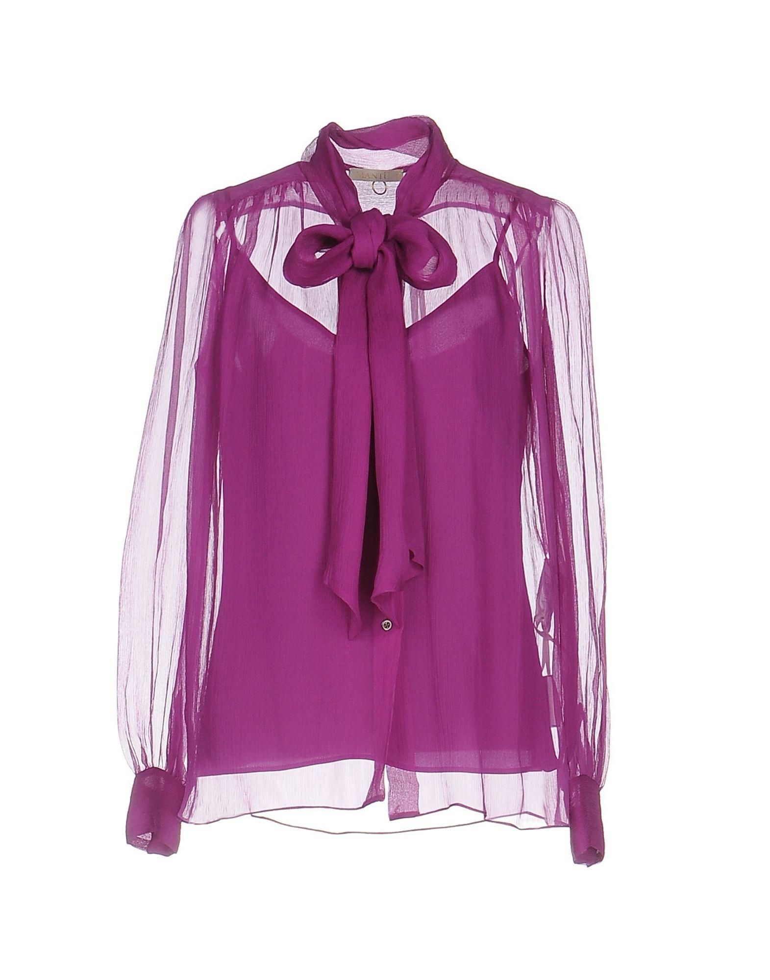 Camicie E Bluse Con Fiocco Mantù Donna - Acquista online su Jhl7j