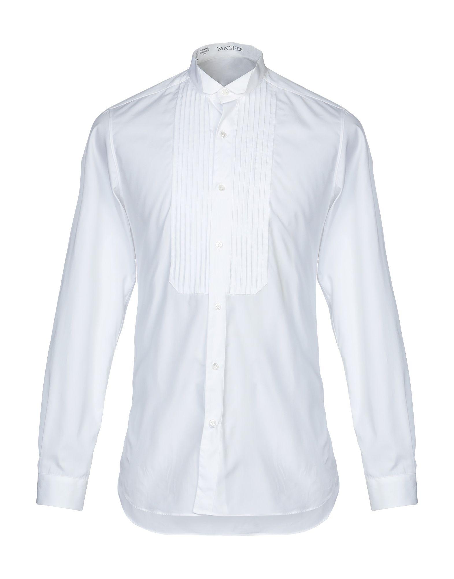 Camicia Tinta Unita Vangher N.7 herren - 38637920UF