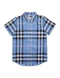 BURBERRY CHILDREN - Camisa