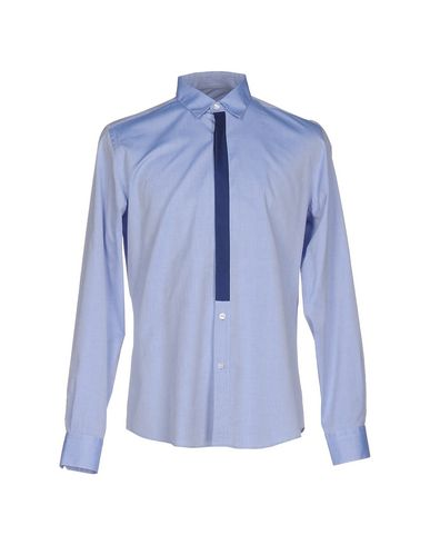 LOW BRAND Einfarbiges Hemd
