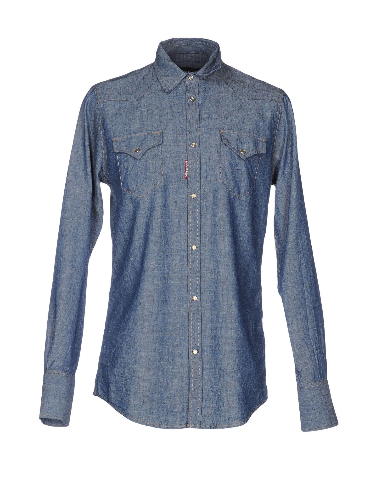 Camicia Jeans Jeans Camicia Dsquarosso2 Uomo - 38638715SQ 1da4df