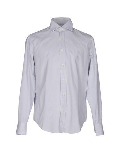 CARLO PIGNATELLI Solid Color Shirt in Light Grey