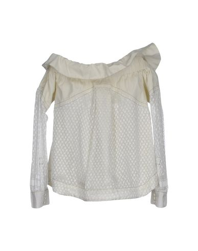 billig opprinnelige Cecilie Copenhagen Skjorter Og Bluser Glatte billigste billige rabatter XG1B6