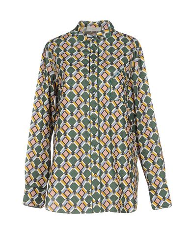 PARDEN'S Patterned Shirts & Blouses in Green