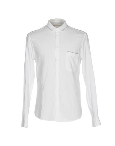 SCERVINO STREET Solid Color Shirt in White