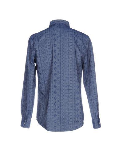 (+) Mennesker Trykt Skjorte 2015 nye offisielle online XcV8VO4
