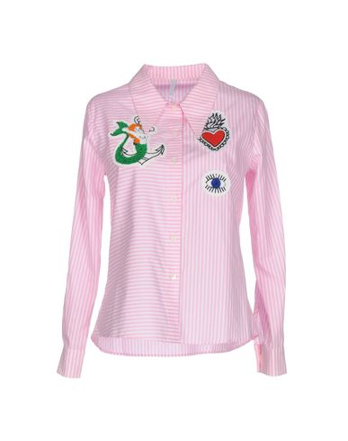 ALCOOLIQUE Striped Shirt in Pink