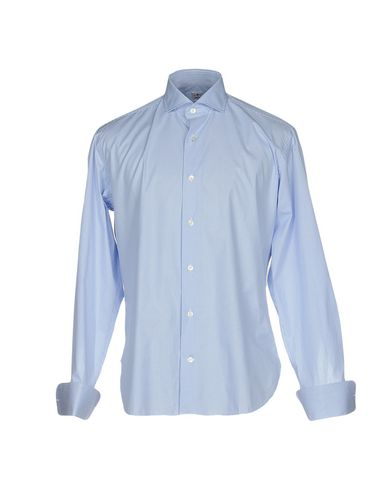 DANOLIS Checked Shirt in Sky Blue