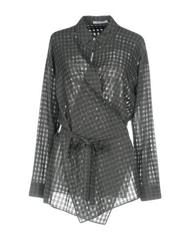 salg billigste T Av Alexander Wang Camisas De Rayas klaring nettsteder 6tbM7