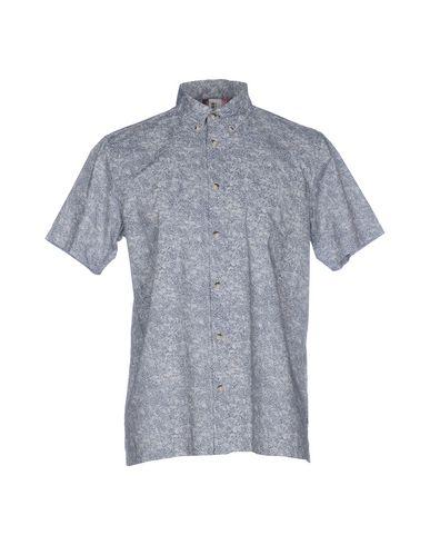 Plekter Trykt Skjorte Fra Ben Sherman knock off kjøpe billig bla besøk kjøpe NYAYGXx