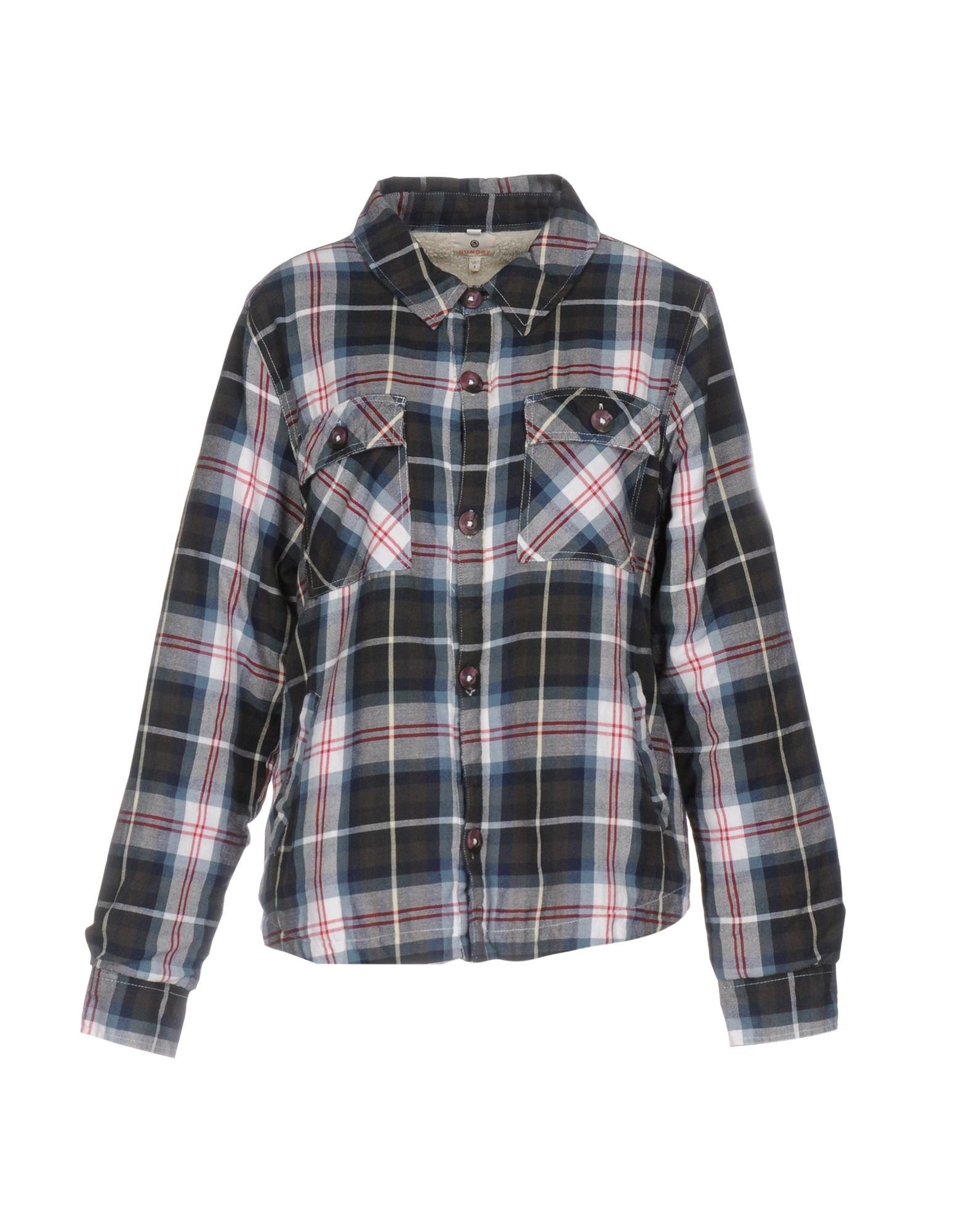 Camicia A Quadri Quadri Sundry donna - 38647977DD