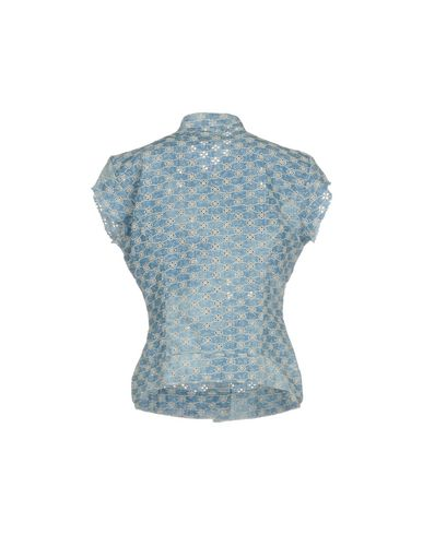 MET Camisas y blusas de encaje