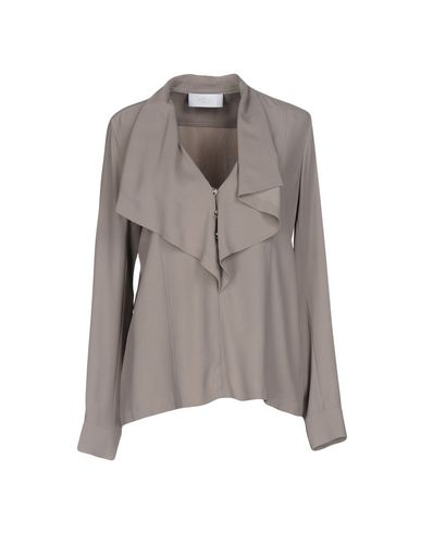 AZZARO Blouse in Light Grey