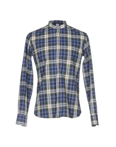 Etichetta 35 Rutete Skjorte gratis frakt utsikt NBKNPEBT1l