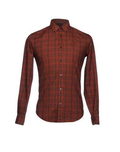Henry A Camicia Di Cotton Quadri atwwqz6