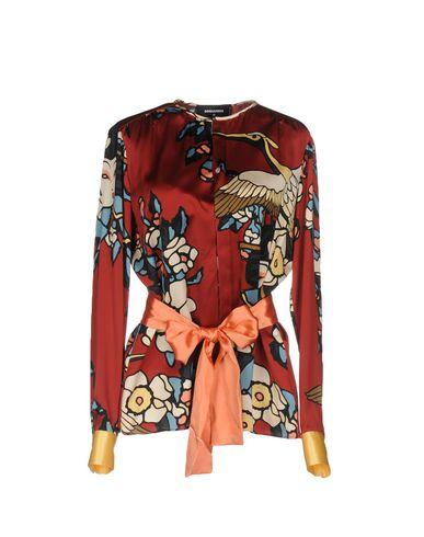 Billige Footaction DSQUARED2 Hemden und Blusen aus Seide Billige Bilder Rabatte Günstig Online Kaufen Sie Günstig Online Billig Verkauf Erkunden vNGMdHl