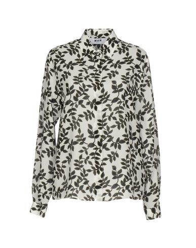 Msgm Silks Floral shirts & blouses
