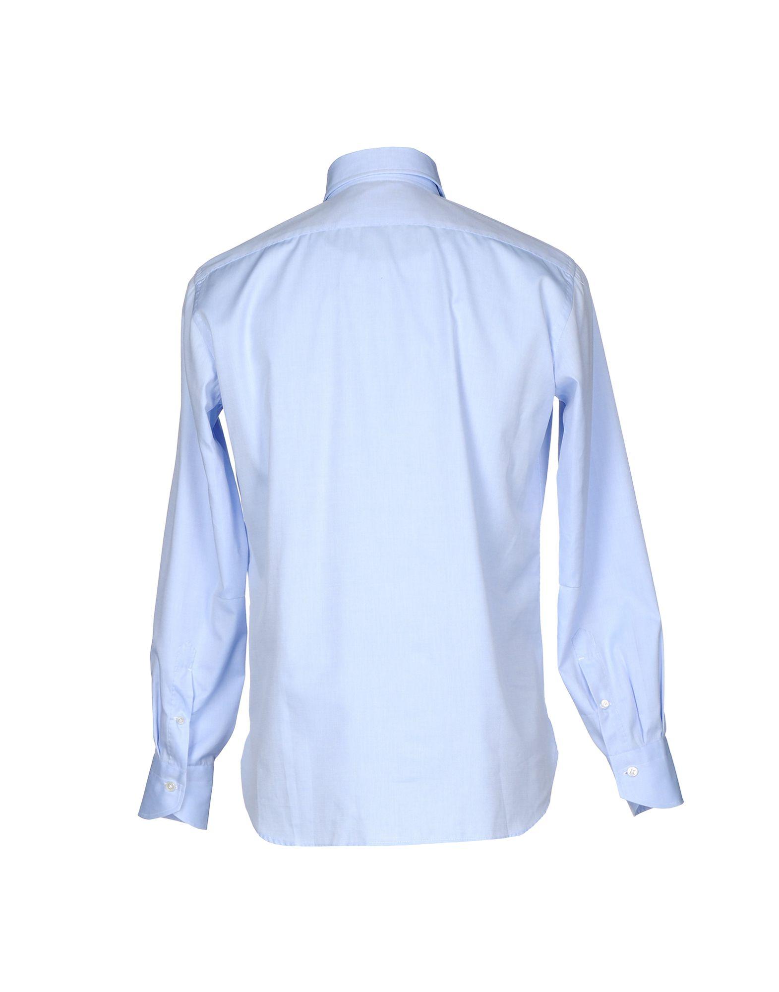 Camicia Tinta Unita Unita Unita Guglielminotti Uomo - 38656088CD 596665
