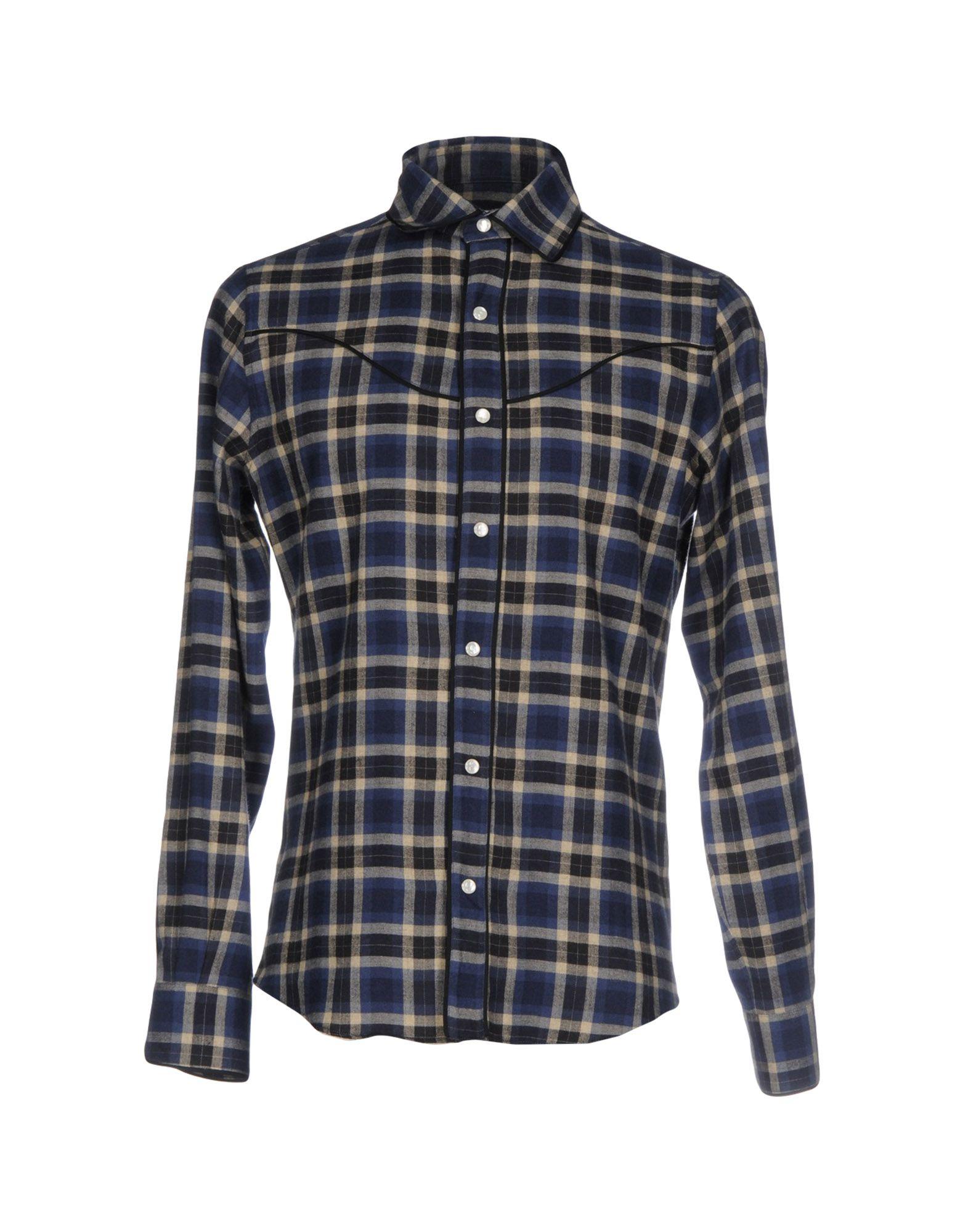 Camicia A Quadri Valentino Uomo - Acquista online su