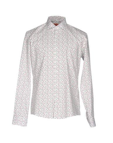 gode avtaler klaring fasjonable Gabardin Trykt Skjorte kjøpe din favoritt FOnH1aP