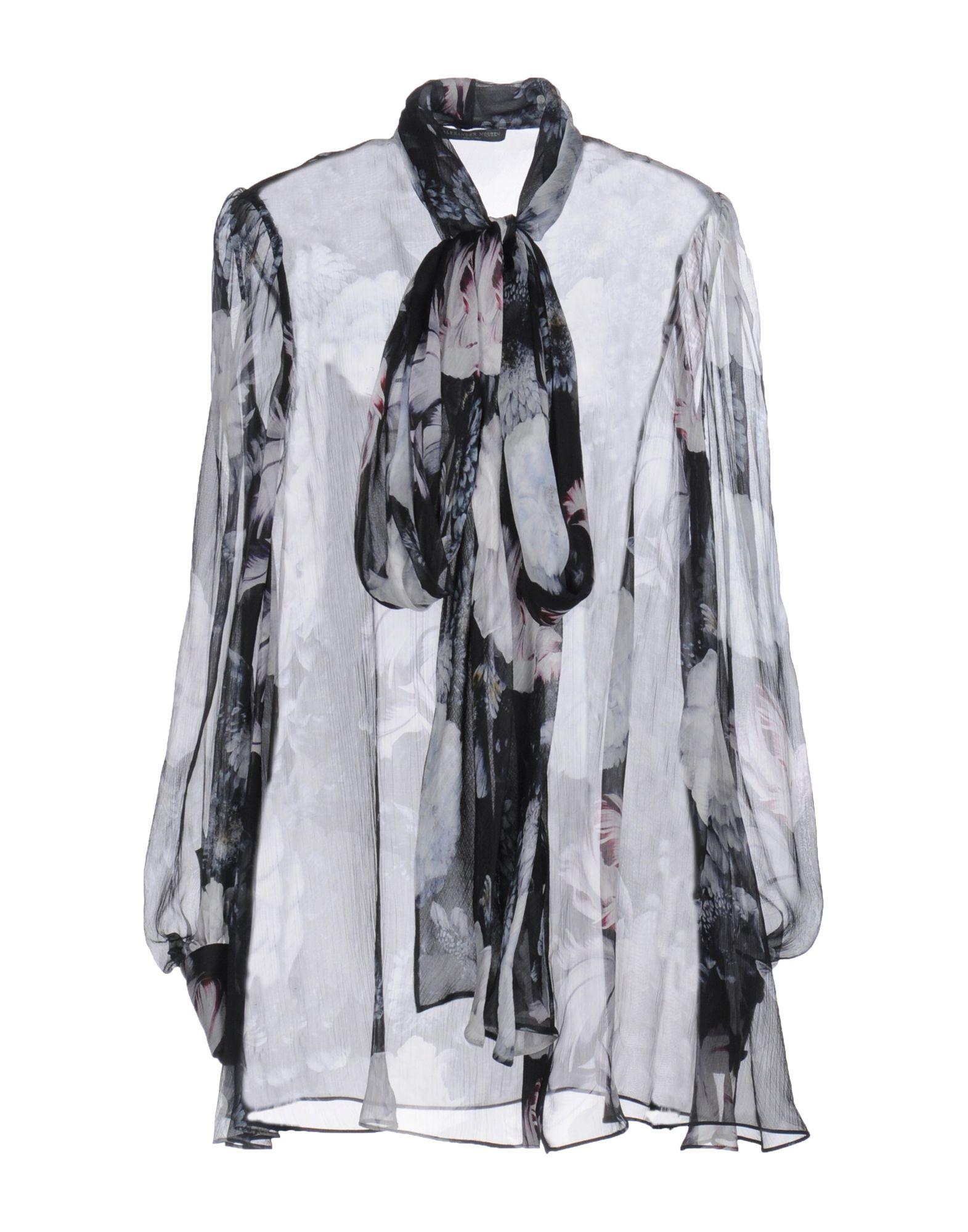 Camicie E Blause A Fiori Alexander Mcqueen damen - 38659040HV
