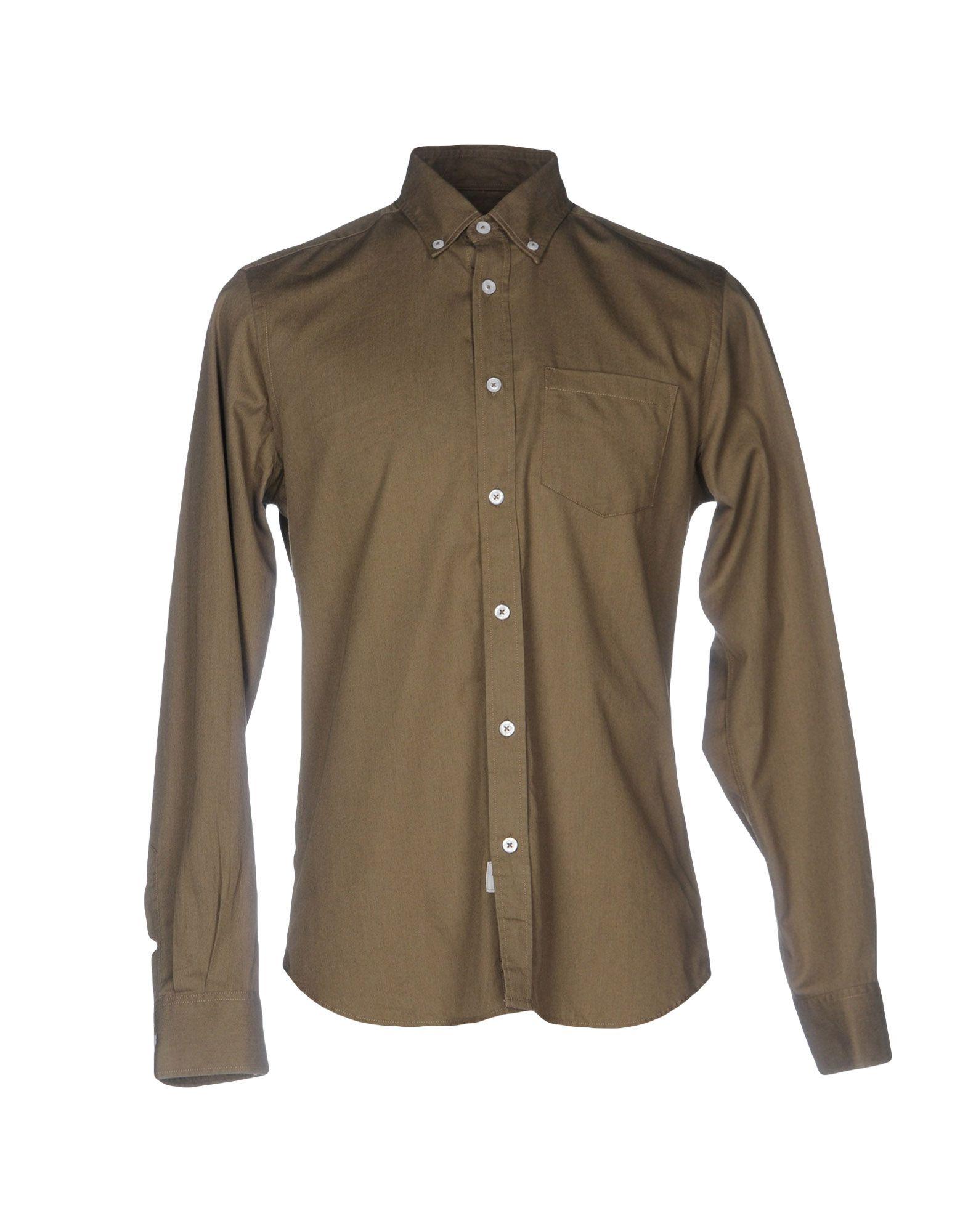 Camicia Tinta Unita Unita bluer uomo - 38659875RL  bevorzugt