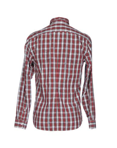 Trussardi Jeans Rutete Skjorte klaring pålitelig rabatt med mastercard rabatt engros billig billig lav pris vlxLG