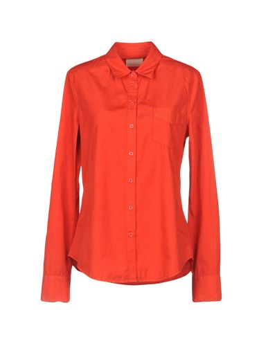 BAND OF OUTSIDERS Solid Color Shirts & Blouses in Red