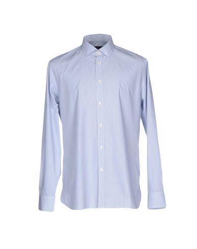 AQUASCUTUM Striped Shirt in Blue