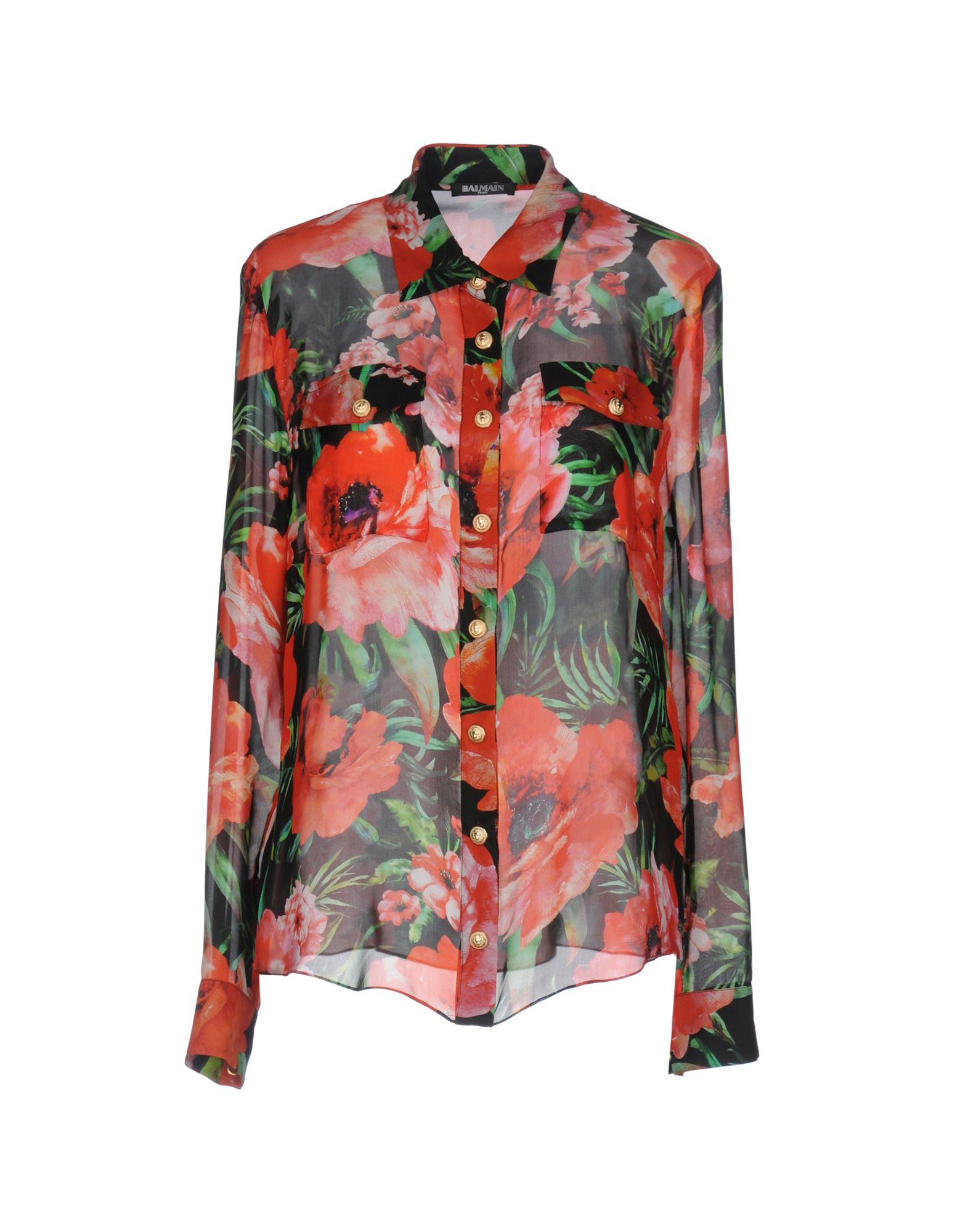 Camicie E Bluse A Fiori Balmain Donna - Acquista online su MJyoVRqqy