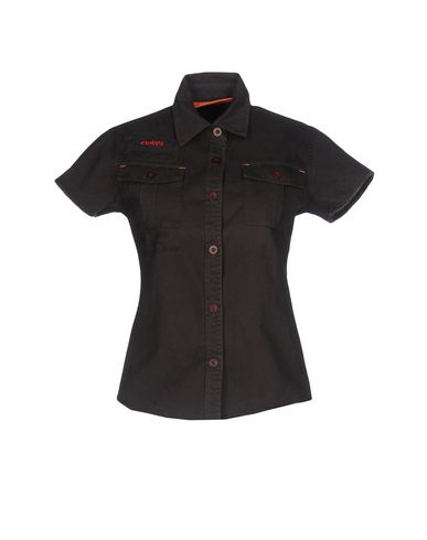 SUPERDRY Camisas y blusas lisas