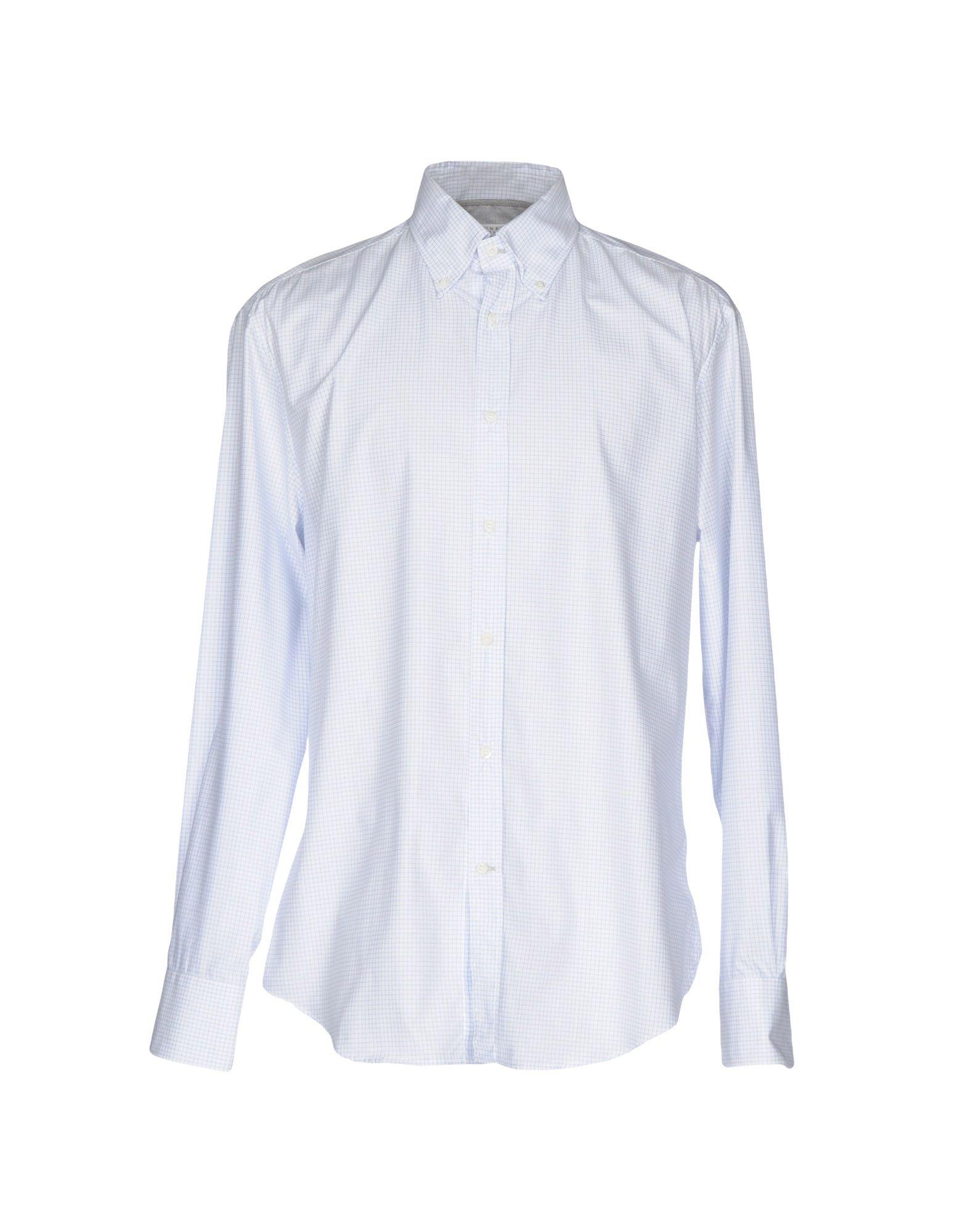Camicia A Quadri Brunello Cucinelli Uomo - Acquista online su