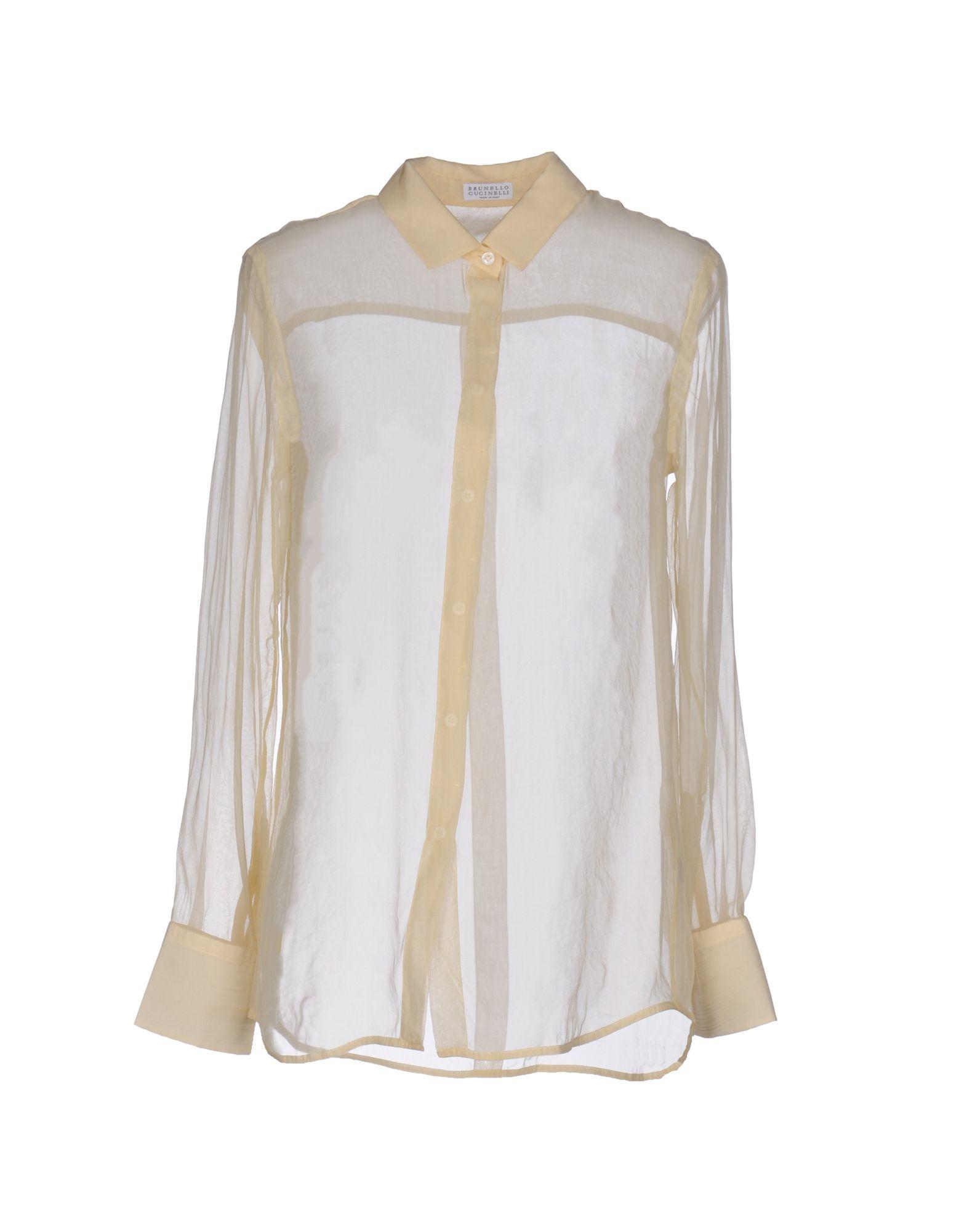 Camicie E Bluse In Seta Brunello Cucinelli Donna - Acquista online su LLyr5lD