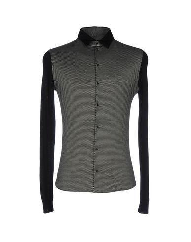 billig salg stikkontakt Armani Trykt Skjorte rabatt billig online kjøpe online autentisk 2eo7W9u