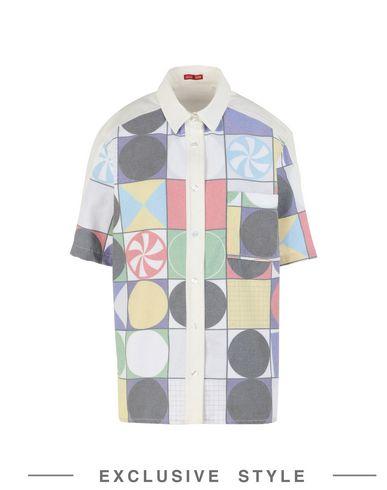 ARTHUR ARBESSER x YOOX SHIRT Hemden und Blusen mit Muster