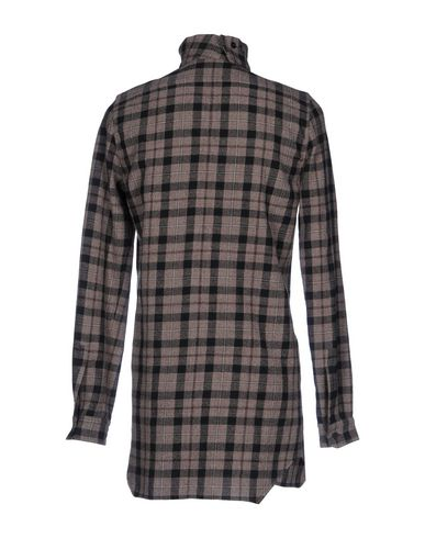 Rick Owens Rutete Skjorte gratis frakt kjøpet DlkIJ3caH