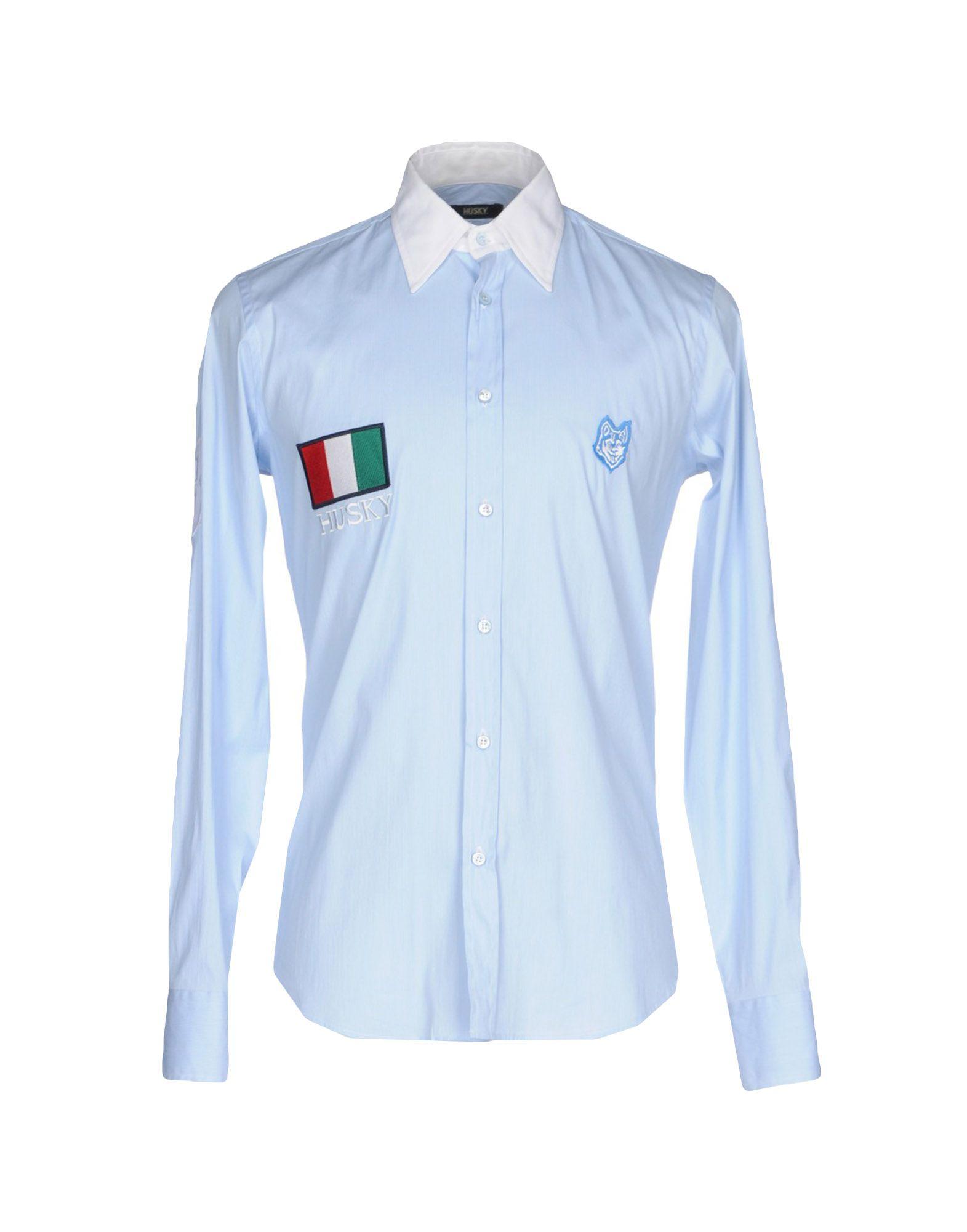 Camicia Tinta Unita Husky herren - 38667700EI