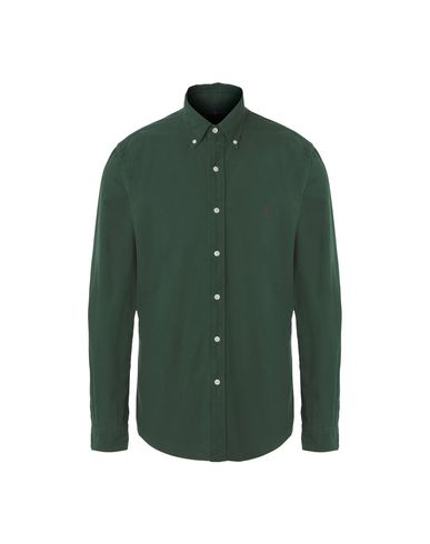 POLO RALPH LAUREN - Solid colour shirt