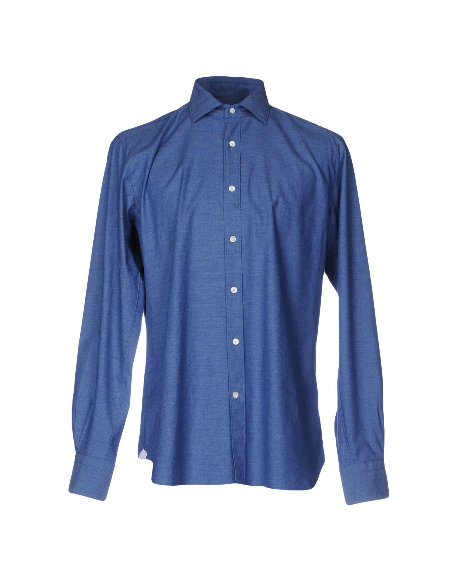 Camicia Unita Tinta Unita Camicia Borsa Uomo - 38673295AC 20a540