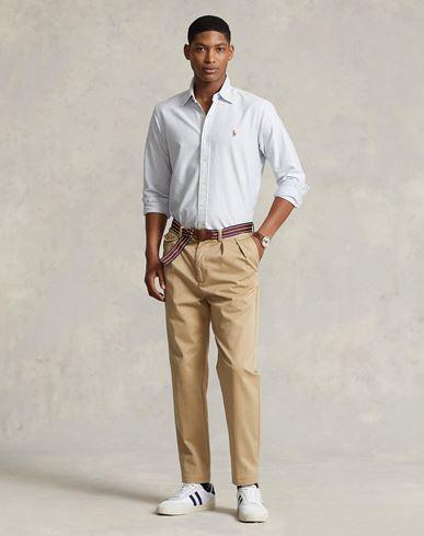 POLO RALPH LAUREN Slim Fit Cotton Oxford Shirt Camisas de rayas