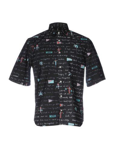 MSGM Camisa estampada
