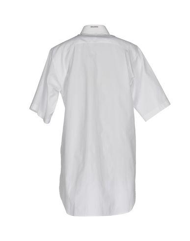 handle billig pris fabrikkutsalg billig pris Dsquared2 Skjorter Y Glatte Bluser utløp komfortabel kjøpe billig komfortabel asyQOago