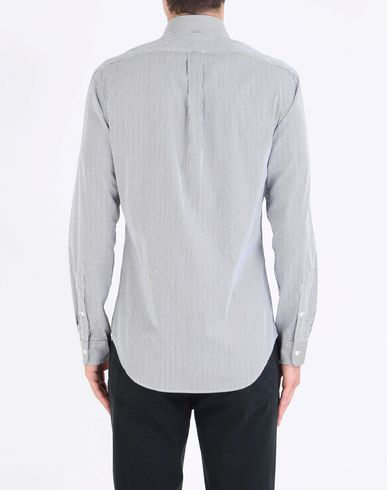 POLO RALPH LAUREN Slim Fit Cotton Poplin Shirt Camisas de rayas