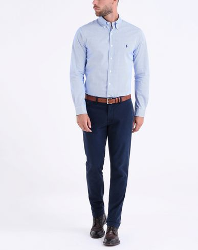 Geschäft Verkauf Sehr Billig POLO RALPH LAUREN Slim Fit Cotton Poplin Shirt Gestreiftes Hemd Cool Billig Verkauf Aus Deutschland Billige Footaction AtfJc