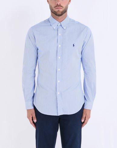 ef635a7c9acd Polo Ralph Lauren Slim Fit Cotton Poplin Shirt - Striped Shirt - Men ...