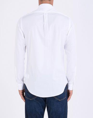 POLO RALPH LAUREN Slim Fit Cotton Poplin Shirt Einfarbiges Hemd Günstige Top-Qualität QLSiHX