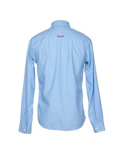 rabatt komfortabel Tommy Hilfiger Denim Tjm Basisk Fast Konstante L / S 38 Camisa Lisa butikkens Poo9bdzCn0