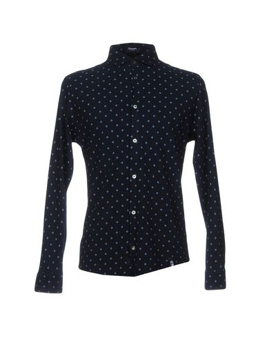 salg populær Drumohr Trykt Skjorte utløp billig online rabatt populær wB8wiI